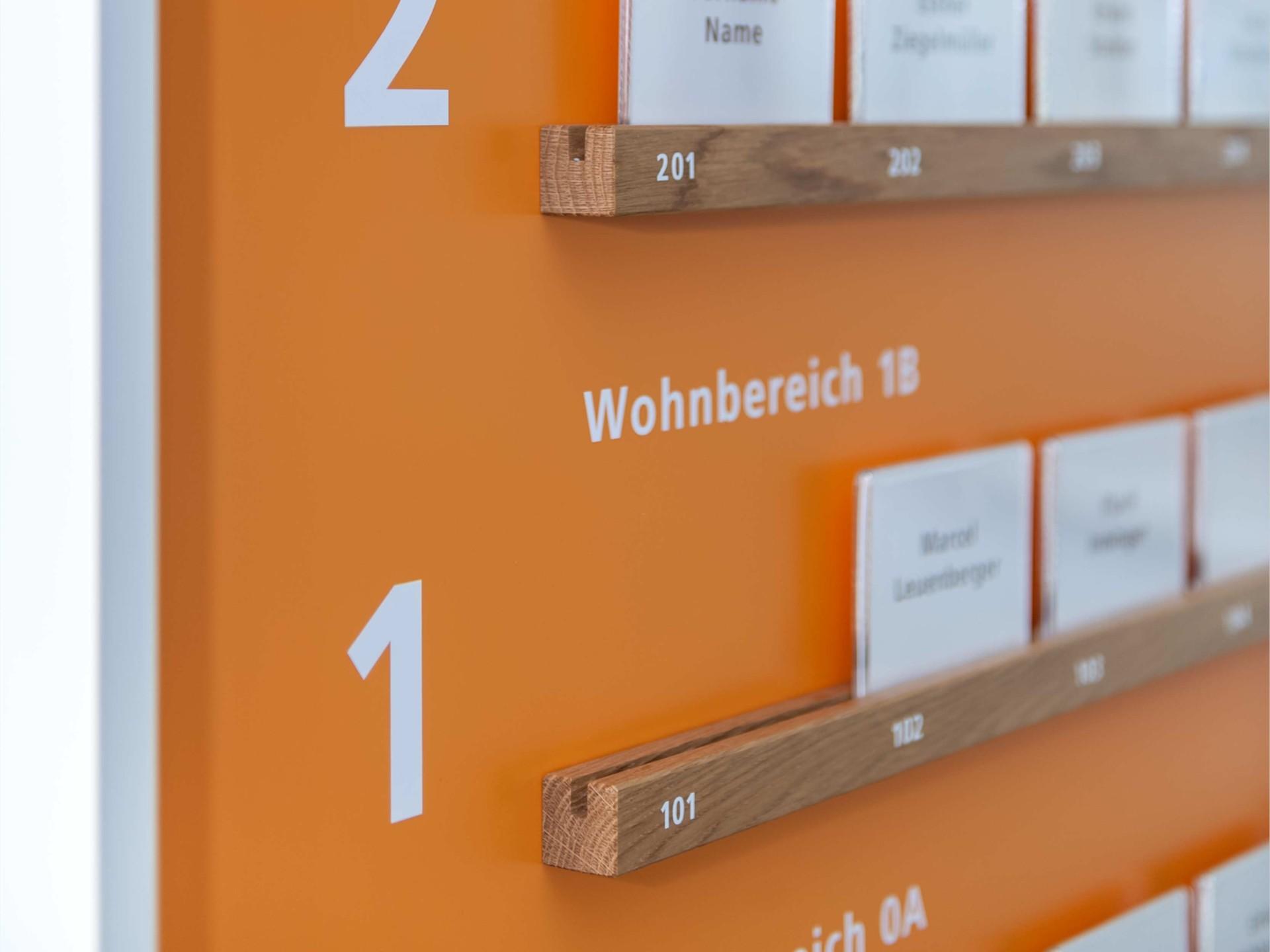 BKVK Alterszentrum Burgfelderhof — Orientierungs- und Wegleitungssystem