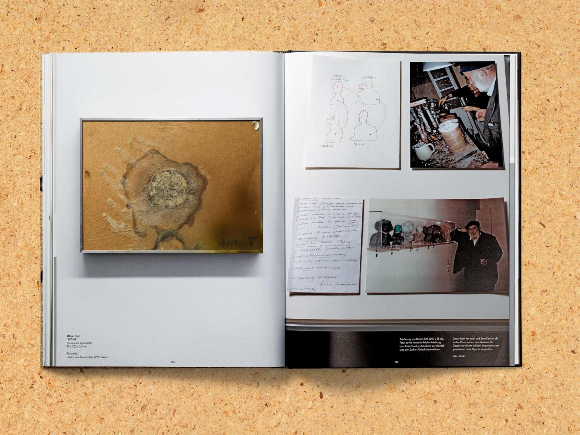BKVK Dieter Roth Souvenirs — Buchgestaltung