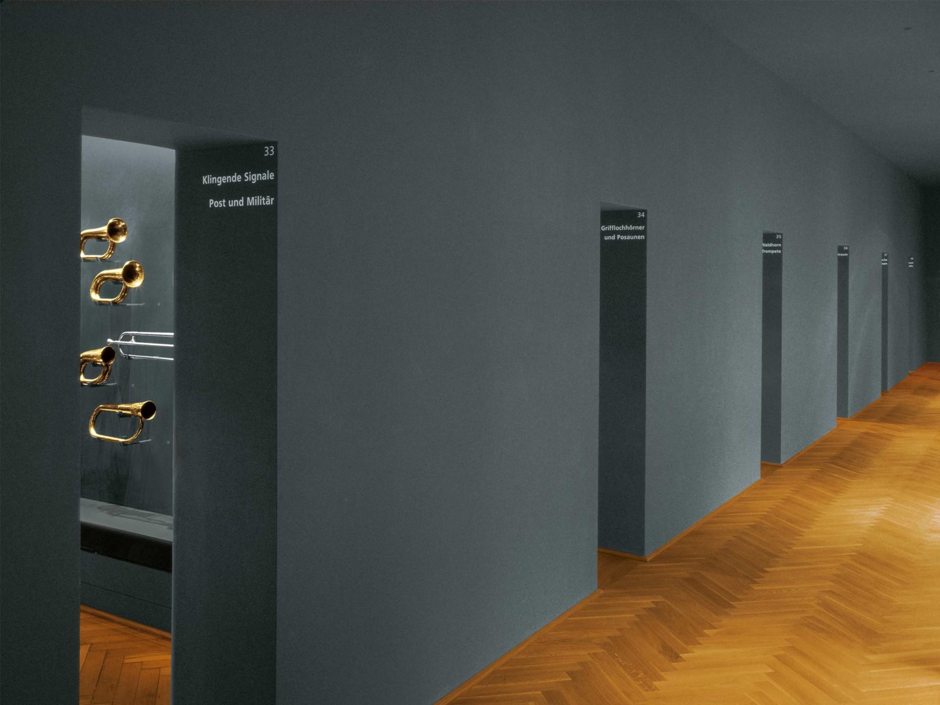BKVK Musikmuseum — Orientierungssystem