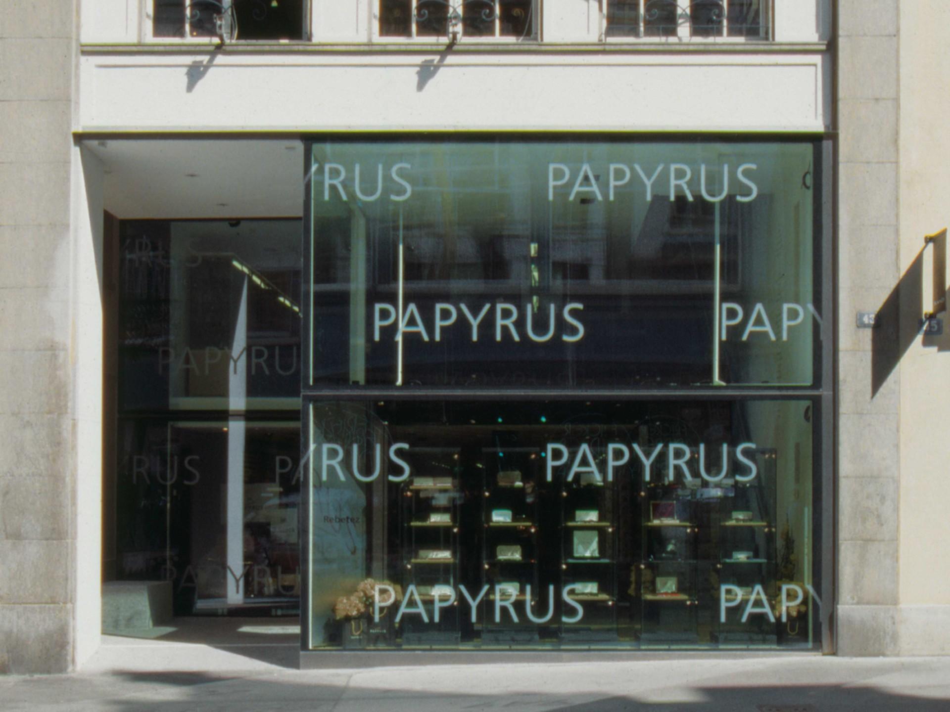 BKVK Papyrus — Hausbeschriftung