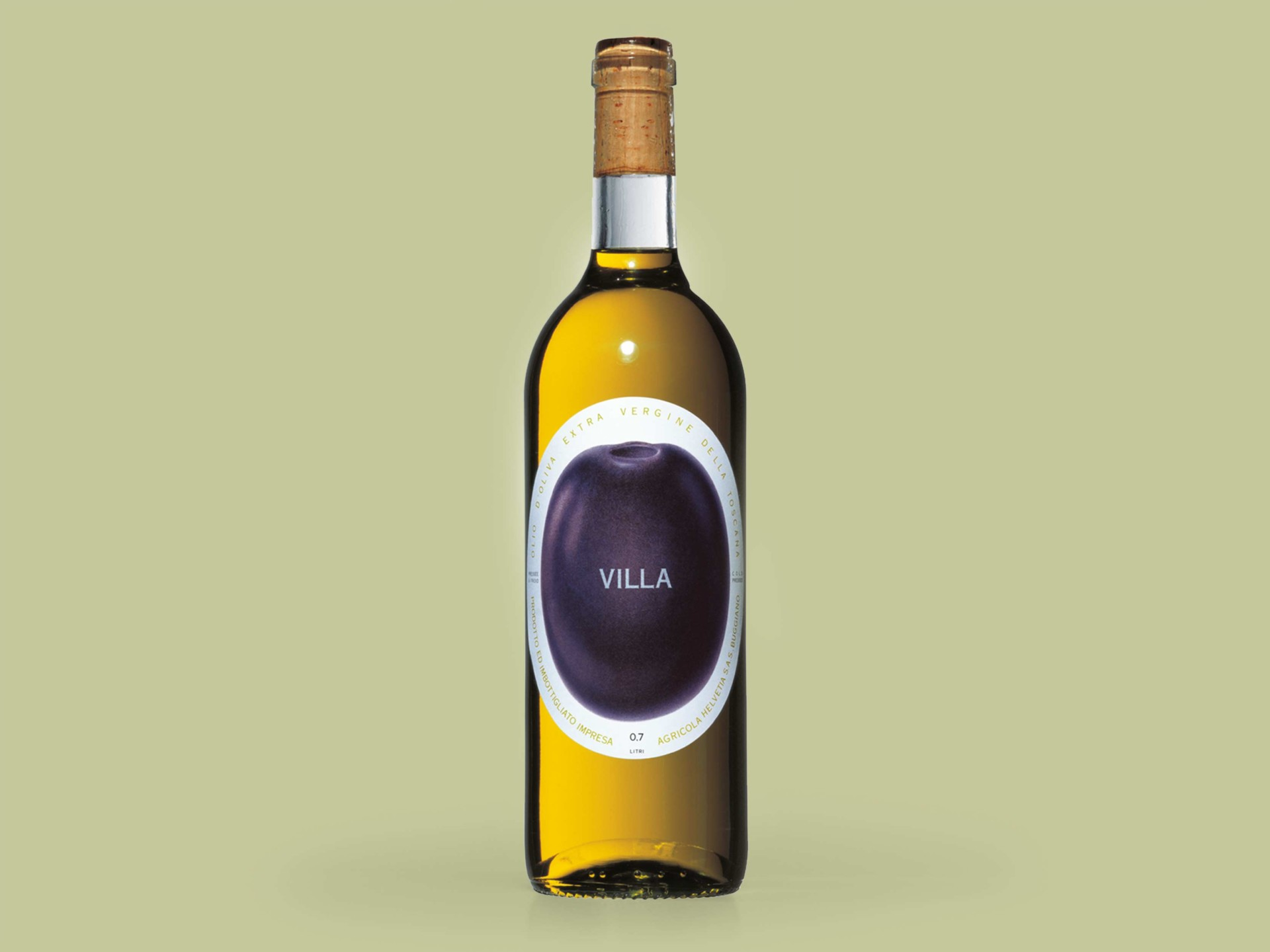 BKVK Villa — Flaschenetikett
