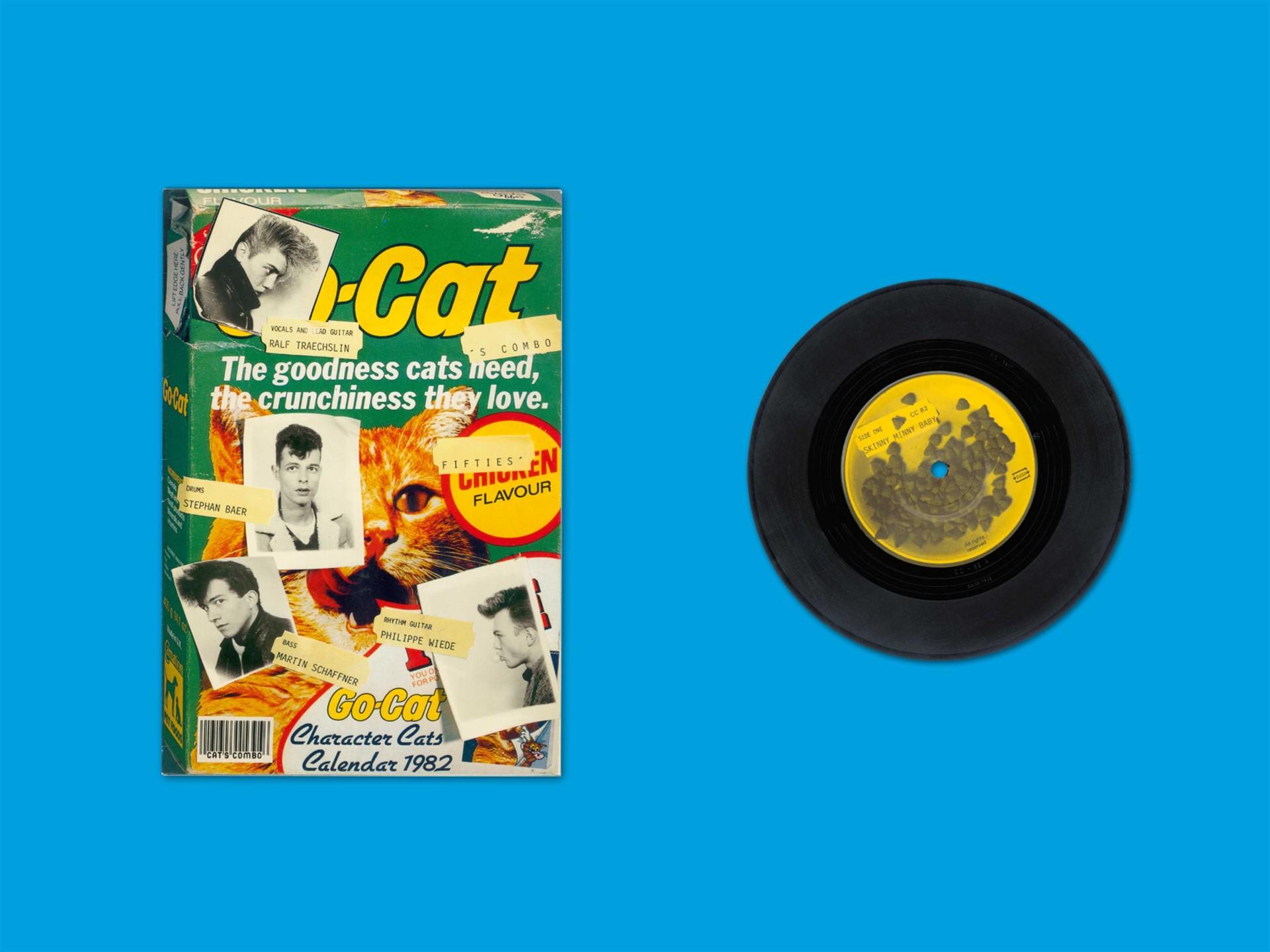 BKVK Cat's Combo — Schallplattencover