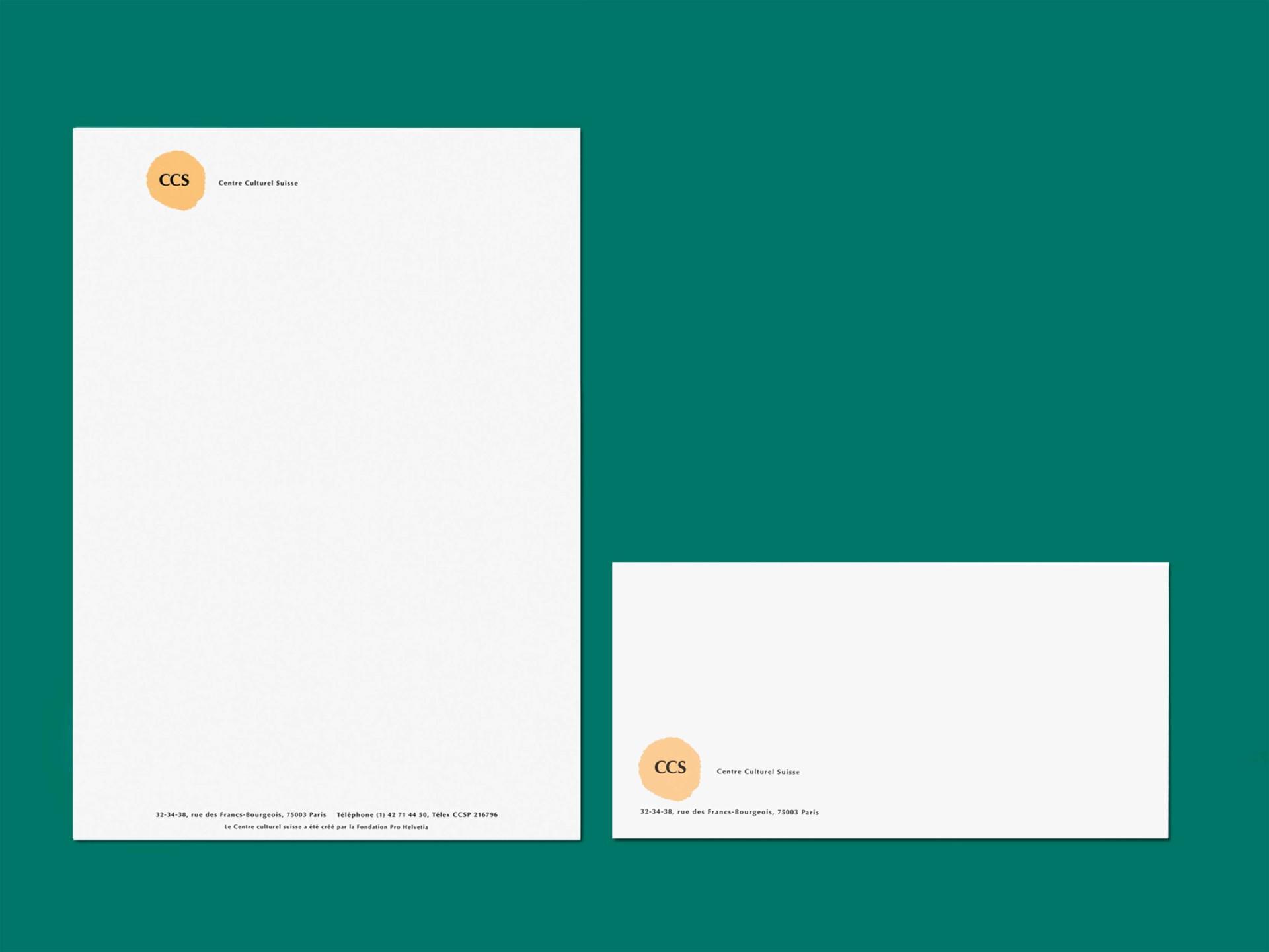 BKVK Centre Culturel Suisse — Corporate Design