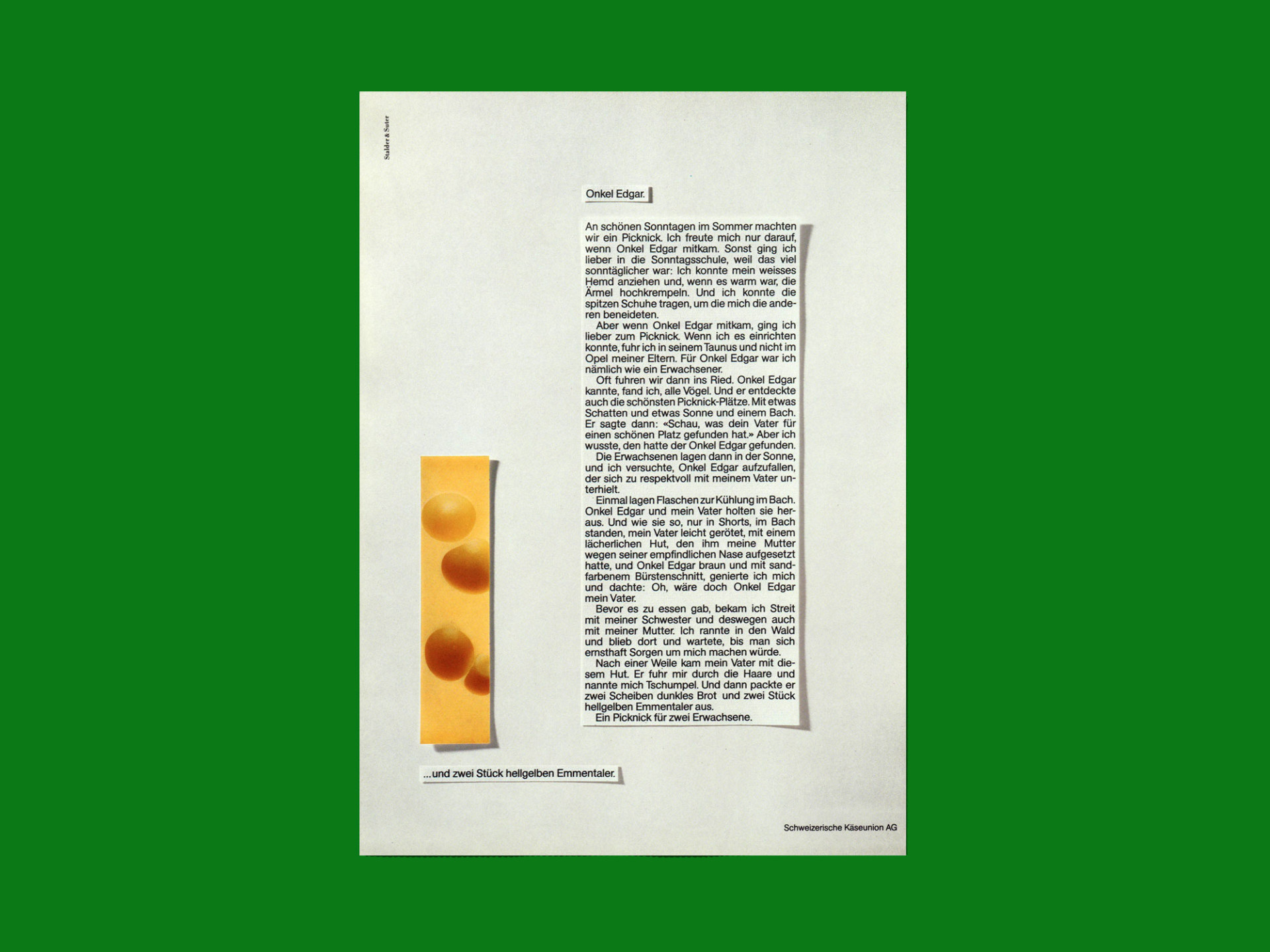 BKVK Emmentaler Käse — Inserate