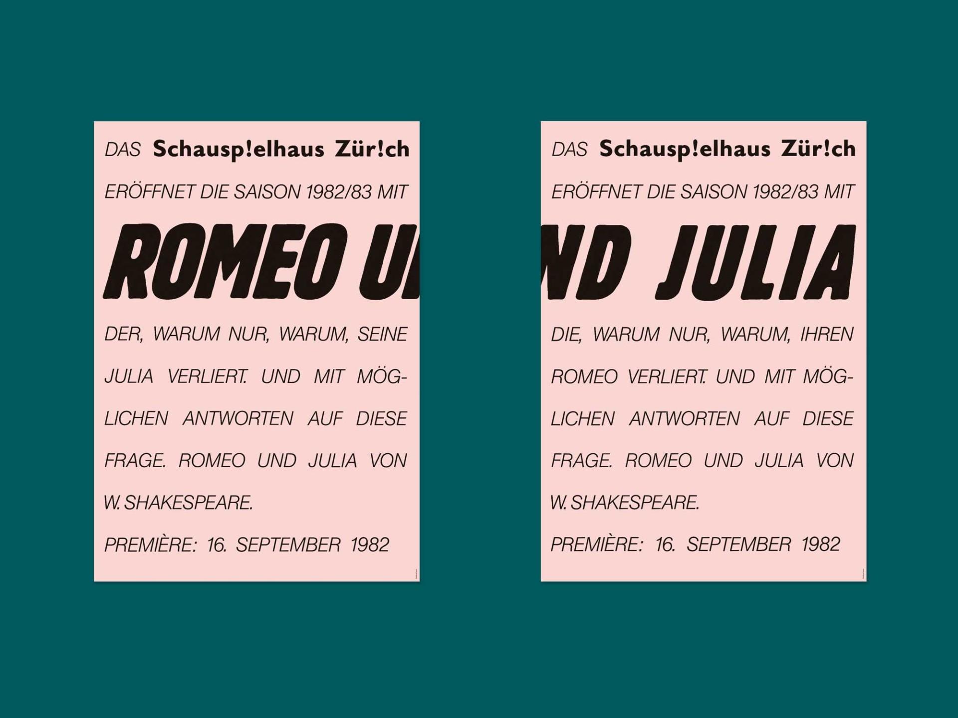 BKVK Schauspielhaus Zürich — Corporate Design