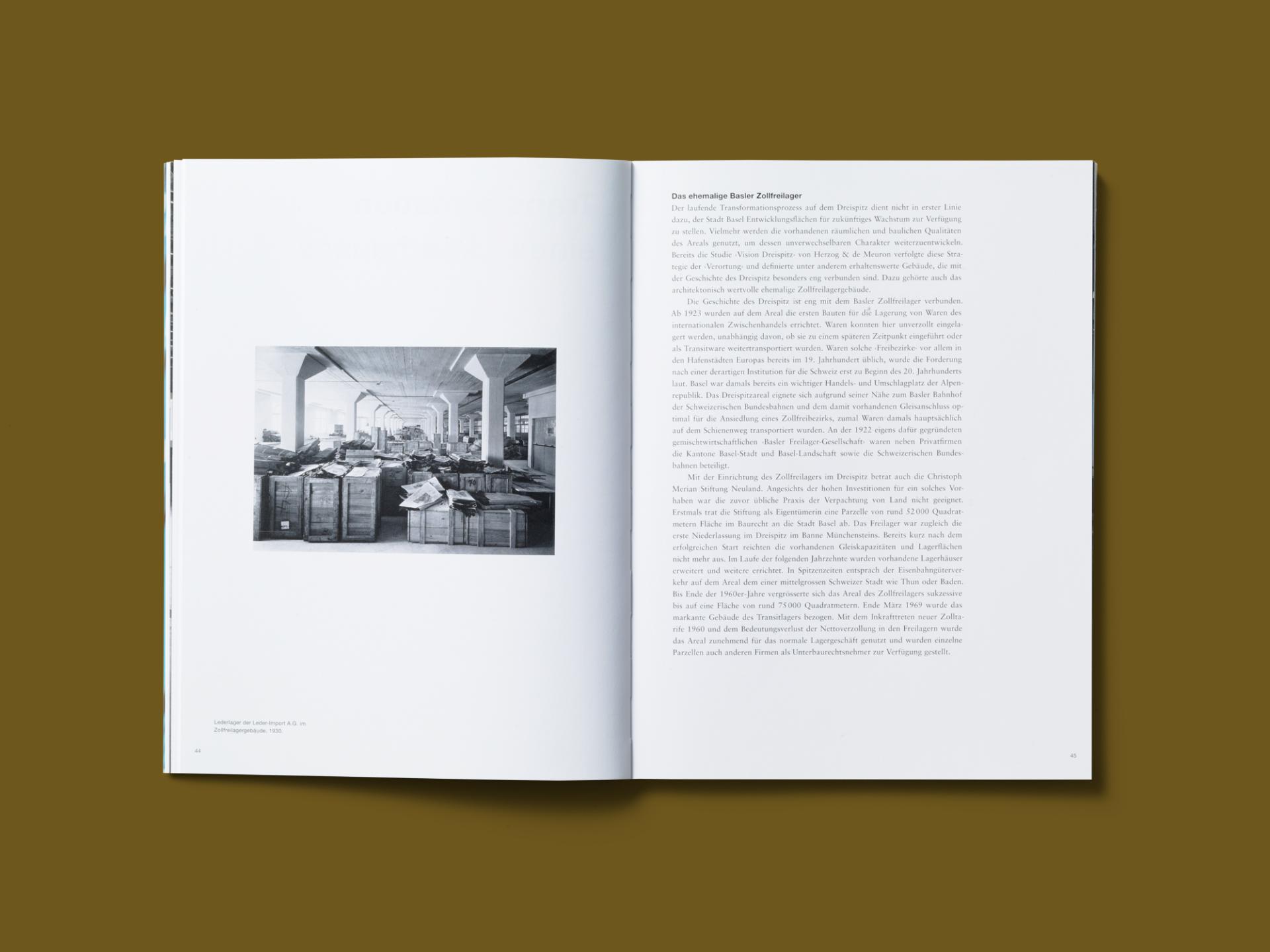 BKVK Dreispitz Publikationen — Buchgestaltung